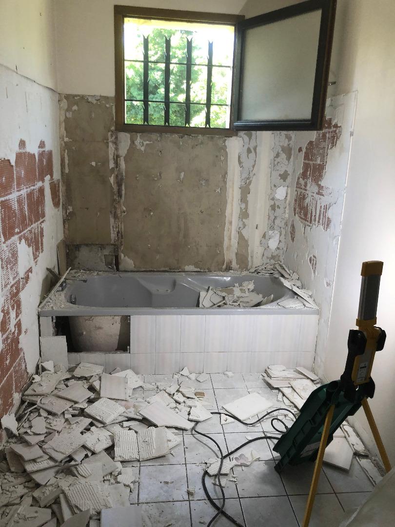 Rénovation de salle de bains à Tournefeuille